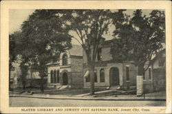 Slater Library and Jewett City Savings Bank