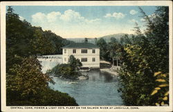 Central CT Power & Light Co. Plant on Salmon River