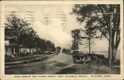 Side Avenue and Water Front, Fort Trumbull Beach