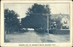 Seaside Ave., Ft. Trumbull Beach