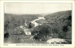 Salmon River from Basin Hill, near Moodus CT