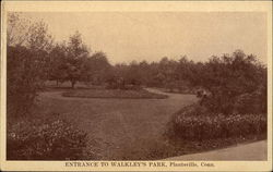 Entrance to Walkley's Park