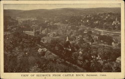 View of Seymour from Castle Rock