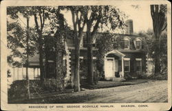 Residence of Mrs. George Scoville Hamlin
