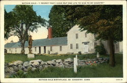 Nathan Hale Birthplace