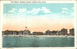 The Beach, Eastern Section Postcard
