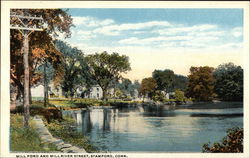 Mill Pond and Mill River Street