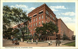 Yale & Towne Mfg. Co. Postcard