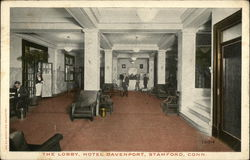 The Lobby of Hotel Davenport