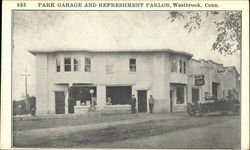 Park Garage and Refreshment Parlor