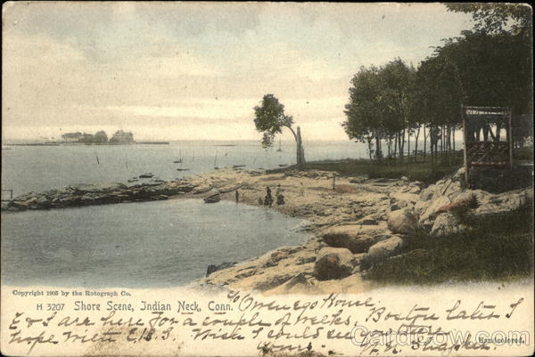 Shore Scene Indian Neck Connecticut
