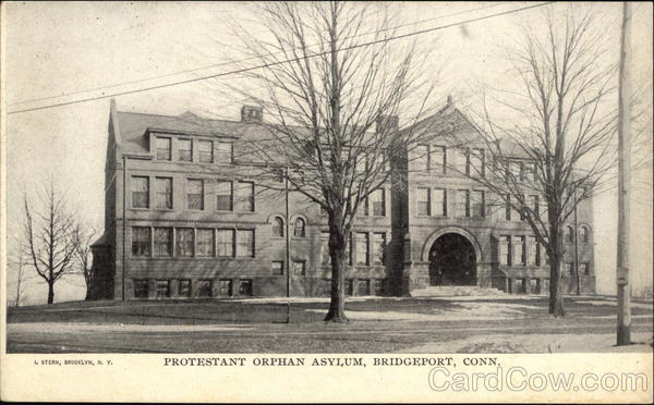 Protestant Orphan Asylum Bridgeport Connecticut