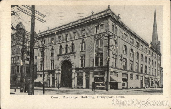 Court Exchange Building Bridgeport Connecticut