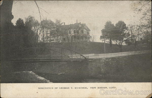 Residence of George T. Murdock, New Boston Fairfield Connecticut