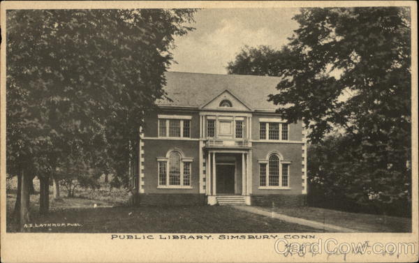 Public Library Simsbury Connecticut