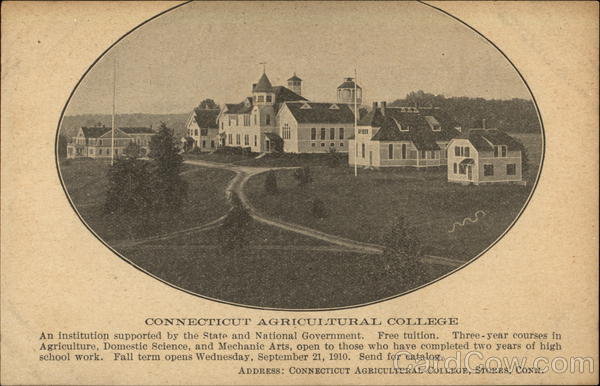 Connecticut Agricultural College Storrs