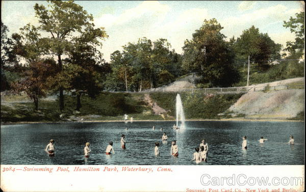 Swimming Pool, Hamilton Park Waterbury Connecticut
