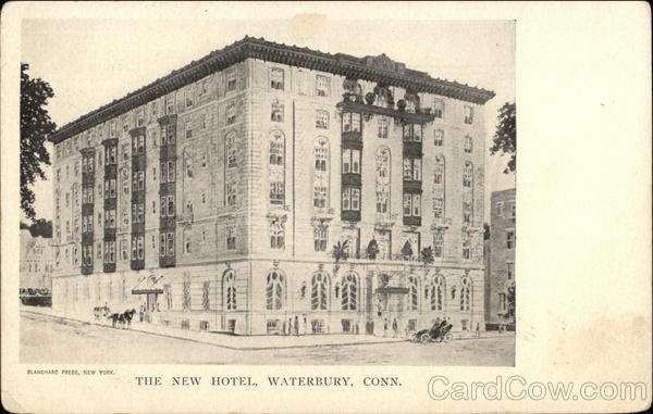 The New Hotel Waterbury Connecticut