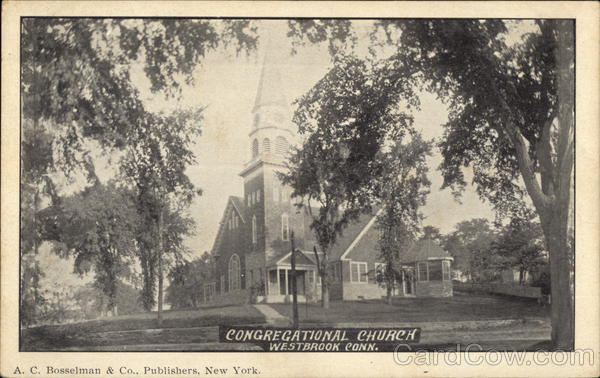 Congregational Church Westbrook Connecticut