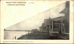 Beach Park Memories, Looking Westward Postcard
