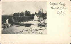 Indian River Bridge in Winter