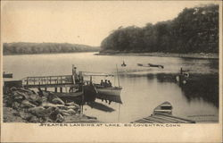 Steamer Landing at Lake