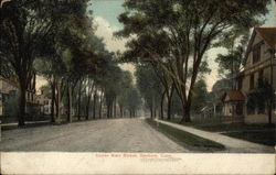 Upper Main Street Postcard