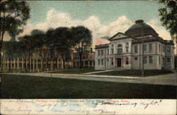 Fairfield County Court House and Turner House Postcard