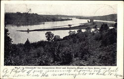 A Glimpse of the Connecticut River and Eustacia Island at Deep River, Conn.