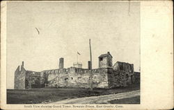 South View showing Guard Tower, Newgate Prison
