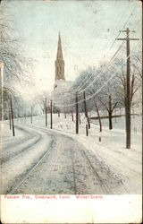 Putnam Avenue - Winter Scene