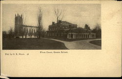 Fives Court, Groton School