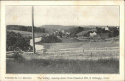 The Valley, Looking Down from Chestnut Hill
