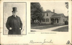 David Harum of Homer Postcard