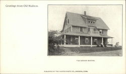 Greetings from Old Madison - Vacation House Postcard