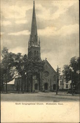 South Congregational Church Postcard