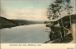 Connecticut River Below Middletown