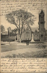 First Congregational Church Postcard