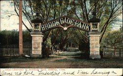 Entrance to Brookside Park
