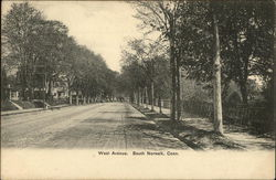 West Avenue Postcard