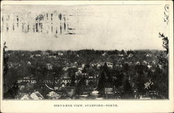 Bird's Eye View of Town, North