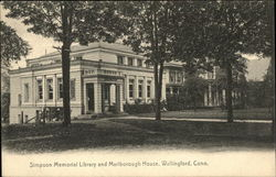 Simpson Memorial Library and Marlborough House