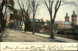 Maple Avenue and St. Mary's Convent
