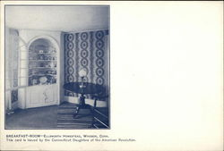 Ellsworth Homestead - Breakfast Room Postcard