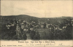 View from Wm. L. Gilbert Home.