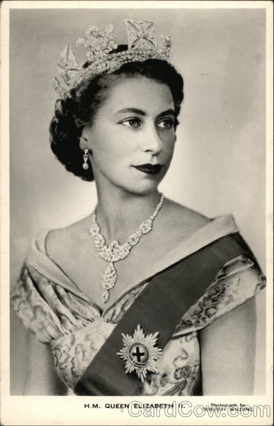 H. M. Queen Elizabeth II. England Royalty