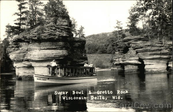 Sugar Bowl and Grotto Rock Wisconsin Dells