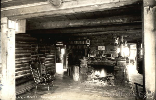Interior of Hewes-Kirkwood Inn Rocky Mountain National Park Colorado