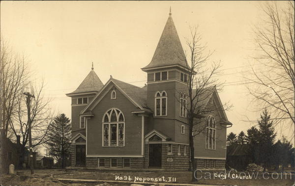 Congregational Church Neponset Illinois
