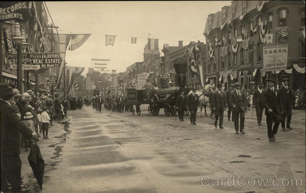 150th Anniversary Parade June 6-8 1915 Concord New Hampshire